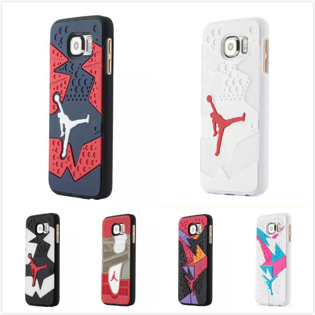 best service 8f625 14ebc US $3.88 |3D Fashion Coque For Samsung S6 Sport Style Michael Jordan Shoe  Sole PVC Rubber Case For Samsung Galaxy S6 G9200 on Aliexpress.com |  Alibaba ...