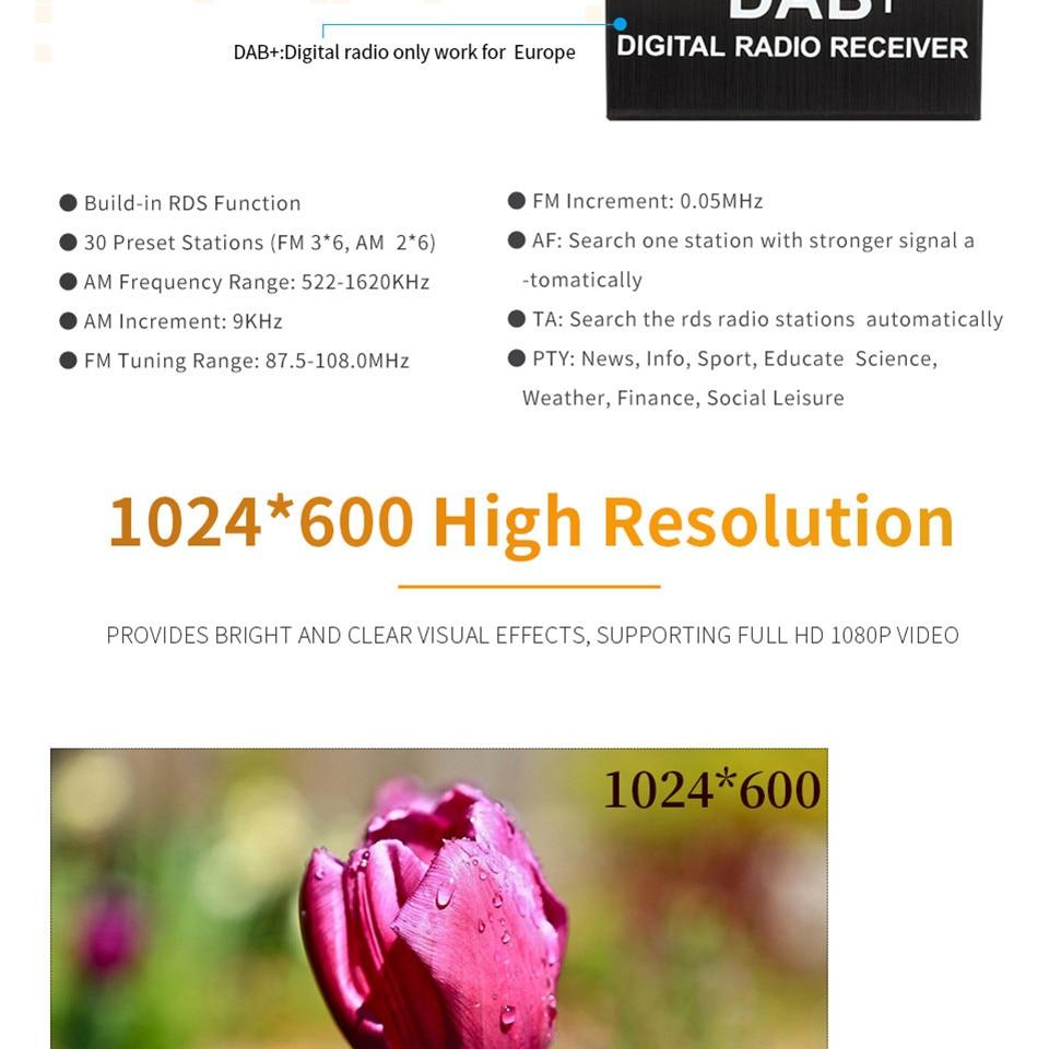 "Best 7"" Octa Core 4G WIFI Android 8.1 4GB RAM 64GB ROM RDS Car DVD Multimedia Player Stereo Radio For BMW E90 E91 E92 E93 2005-2012 17"
