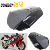Gloss Black Motorcycle Rear Seat Cover For Honda CBR1000RR 2017 2018 Motorbike Passenger Rear Seat Cowl Protector Cover