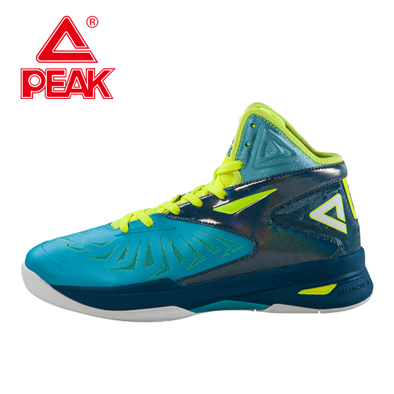 PEAK SPORT Speed Eagle V Men Basketball Shoes Cushion-3 REVOLVE Tech Sneakers Breathable Damping Wear Athletic Boots EUR 40-50 peak sport monster ii men basketball shoes foothold tech sneakers breathable training athletic durable rubber outsole boots