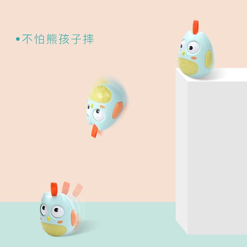 OnnPnnQ Cute Baby Toy Nodding Moving Eyes Owl Doll Baby Rattles - Խաղալիքներ նորածինների համար - Լուսանկար 5