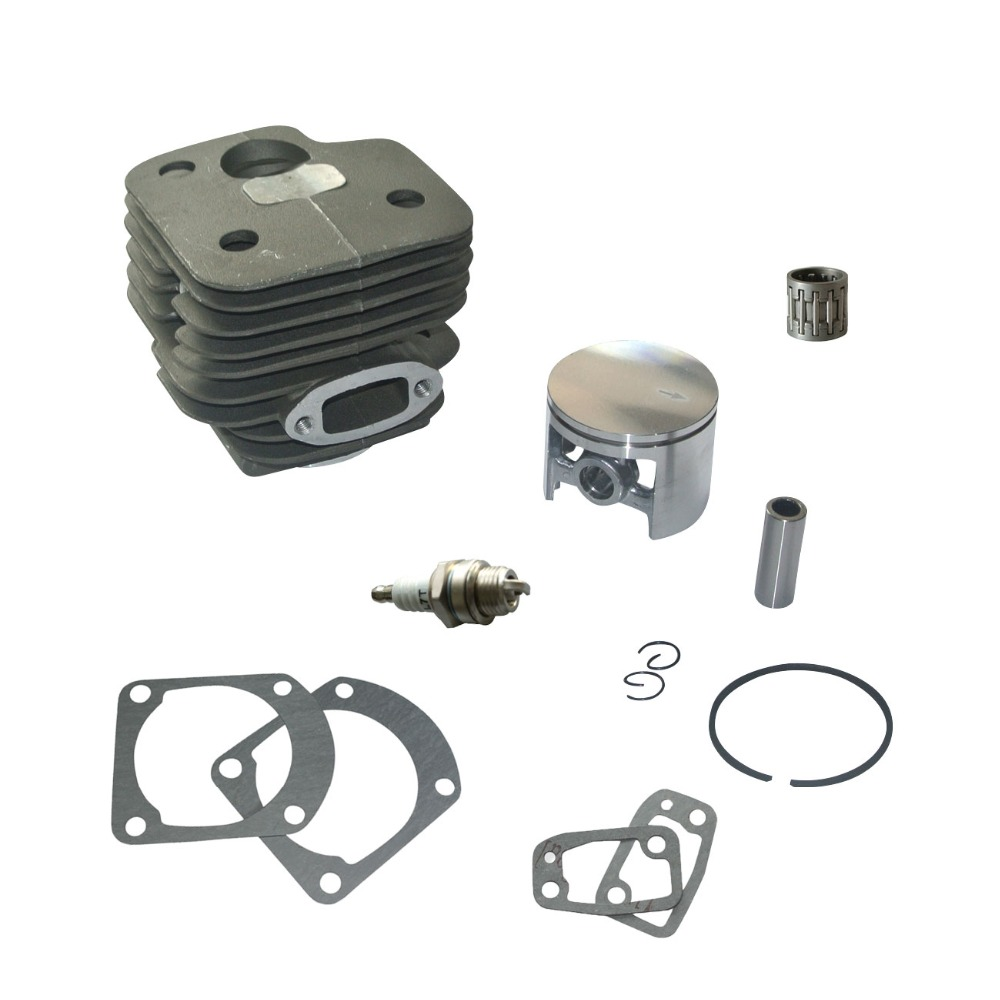 Cylinder Piston Gaskets Bearing Kit For Husqvarna 268 272  REP #501 chainsaw clutch drum rim sprocket 3 8 7t needle bearing kit for husqvarna 61 66 162 266 268 272 jonsered 625 630