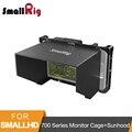 Monitor de SmallRig Gaiola Com pala De Sol para SmallHD Série 700 Monitor de Tela de 701 Lite/702 Lite/702 Brilhante monitor Lcd Capa-2131