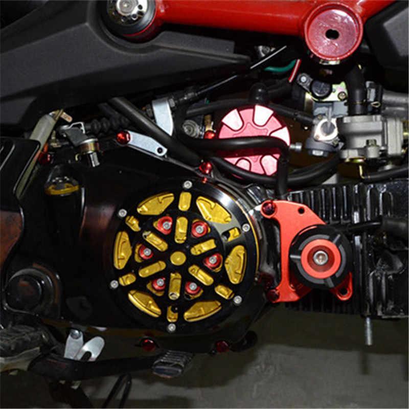 30 قطعة دراجة نارية براغي غطاء تغليف الديكور Centro دراجة نارية الزينة صب لياماها كاواساكي هوندا بينيلي BMW سوزوكي