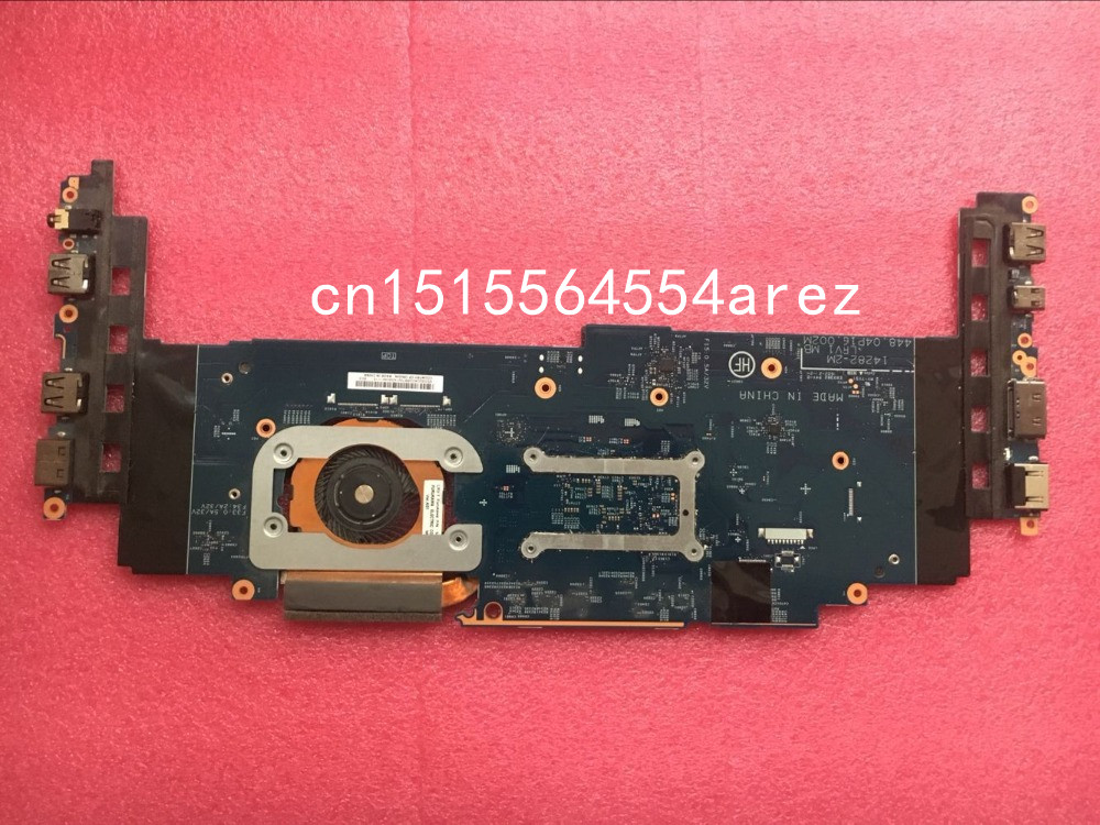 original laptop lenovo thinkpad x1 carbon motherboard mainboard with fan i7 3667u cpu touch 04x0495 w8p Original laptop Lenovo ThinkPad X1 CARBON TYPE 20FB 20FC motherboard mainboard i7-6600 CPU 16GB with fan FRU 01AX813
