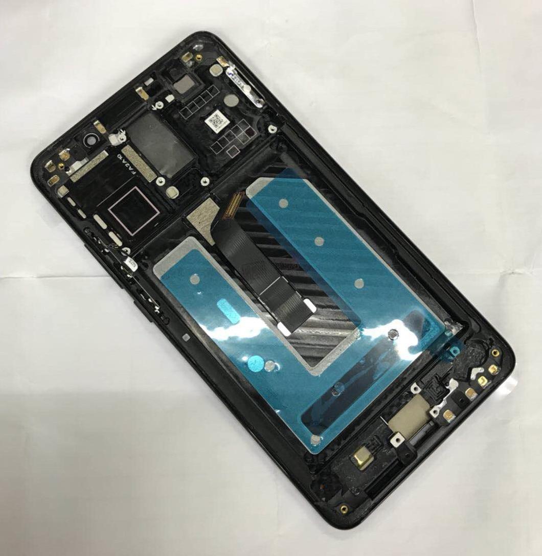 D'origine Pour 5.9 Huawei Compagnon 10 ALP-L09 ALP-L29 Axisinternational LCD écran D'affichage avec cadre + Écran Tactile Digitizer avec outil