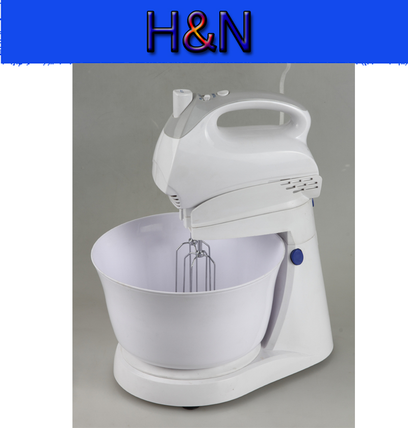 Hot Sale Power Hand Electric Food Mixer Operated Mini Cream Mayonnaise Frother Drink Milk Mixer With Bowl Maker Food Blender