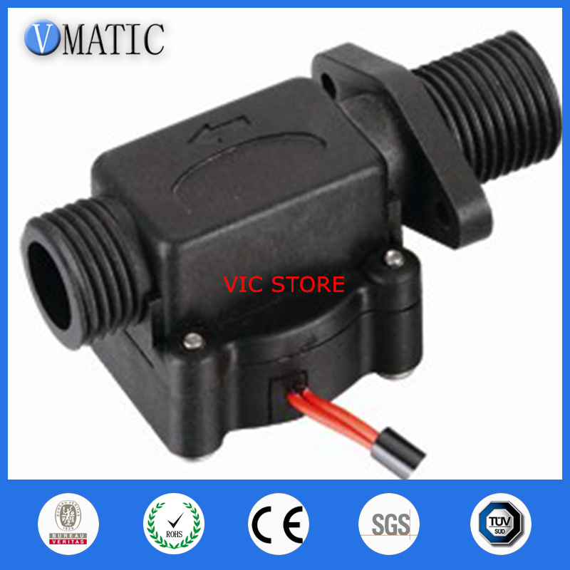 Livraison gratuite VC678 détecteur de débit d'eau magnétique Vertical/horizontal interrupteur de débit d'eau en plastique