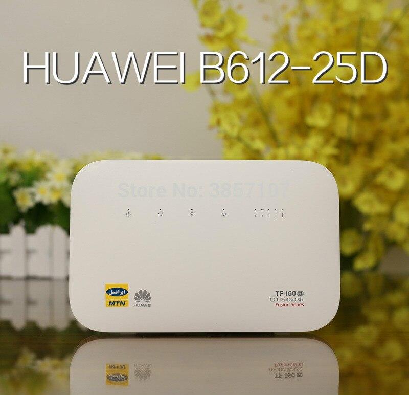 Unlocked Huawei B612 B612s-25d Router 4G LTE Cat.6 300Mbs CPE Router 4G Wireless Router +2PCS AntennaUnlocked Huawei B612 B612s-25d Router 4G LTE Cat.6 300Mbs CPE Router 4G Wireless Router +2PCS Antenna