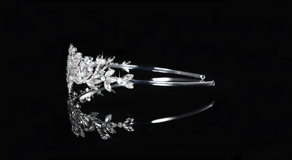 crystal tiaras