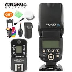 YONGNUO YN560 IV Master Radio Flash Speedlite + RF-605 Wireless Trigger for Canon 1000D 650D 600D Nikon D7200 D750 D800 Camera