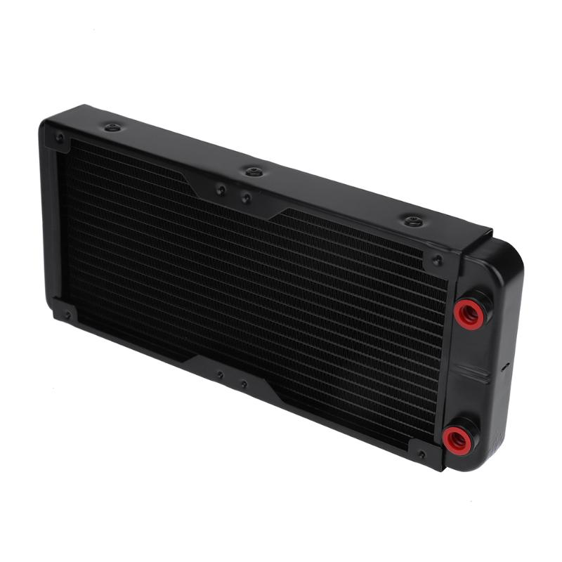 240mm/480mm Aluminum Computer Radiator PC Case Water Cooling Cooler Heat Sink Heat Exchanger CPU GPU Heatsink for Gaming PC 240mm 12 tube aluminum computer water cooler pc case water cooling radiator heat exchanger for laptop desktop