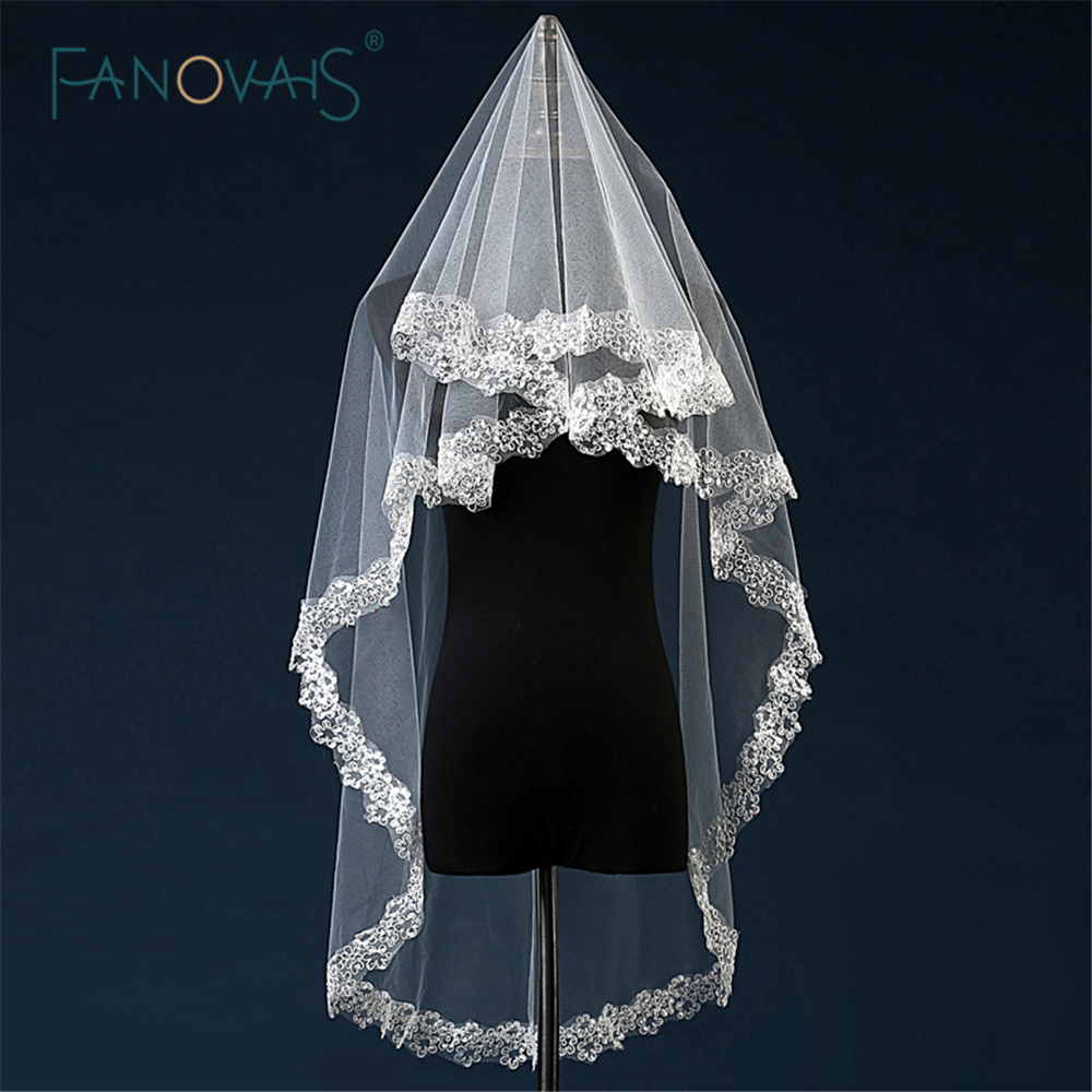 Styles Of Wedding Veils: New Style 1.5m Bridal Veil Lace Wedding Accessories Bridal