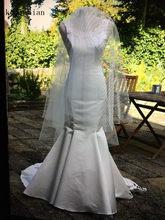 6bf356a2b79 Свадебное платье 2018 летние белые Богемия Пляжные Свадебные платья Русалка  спинки свадебные Платья vestidos de noiva