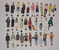 107 Girls Sticker Planner Stickers