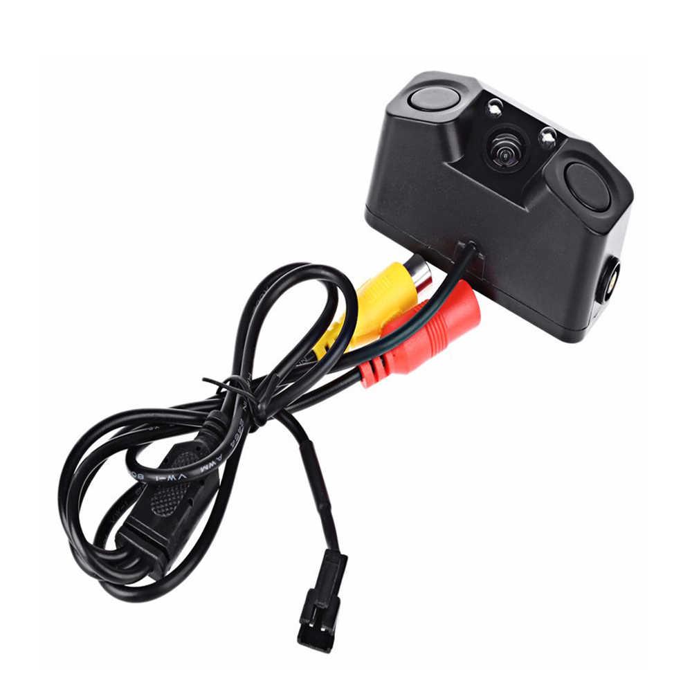 AMPrime 3 TRONG 1 Chống Nước Video Đậu Xe Hệ Thống Camera Quan Sát Phía Sau với 2 Đầu Dò Radar Cảm Biến Báo Động Báo Chống xe ô tô