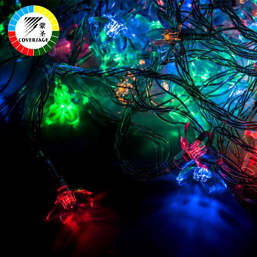 Coversage 10M 100 Led Рождестволық Гарленд - Мерекелік жарықтандыру - фото 2
