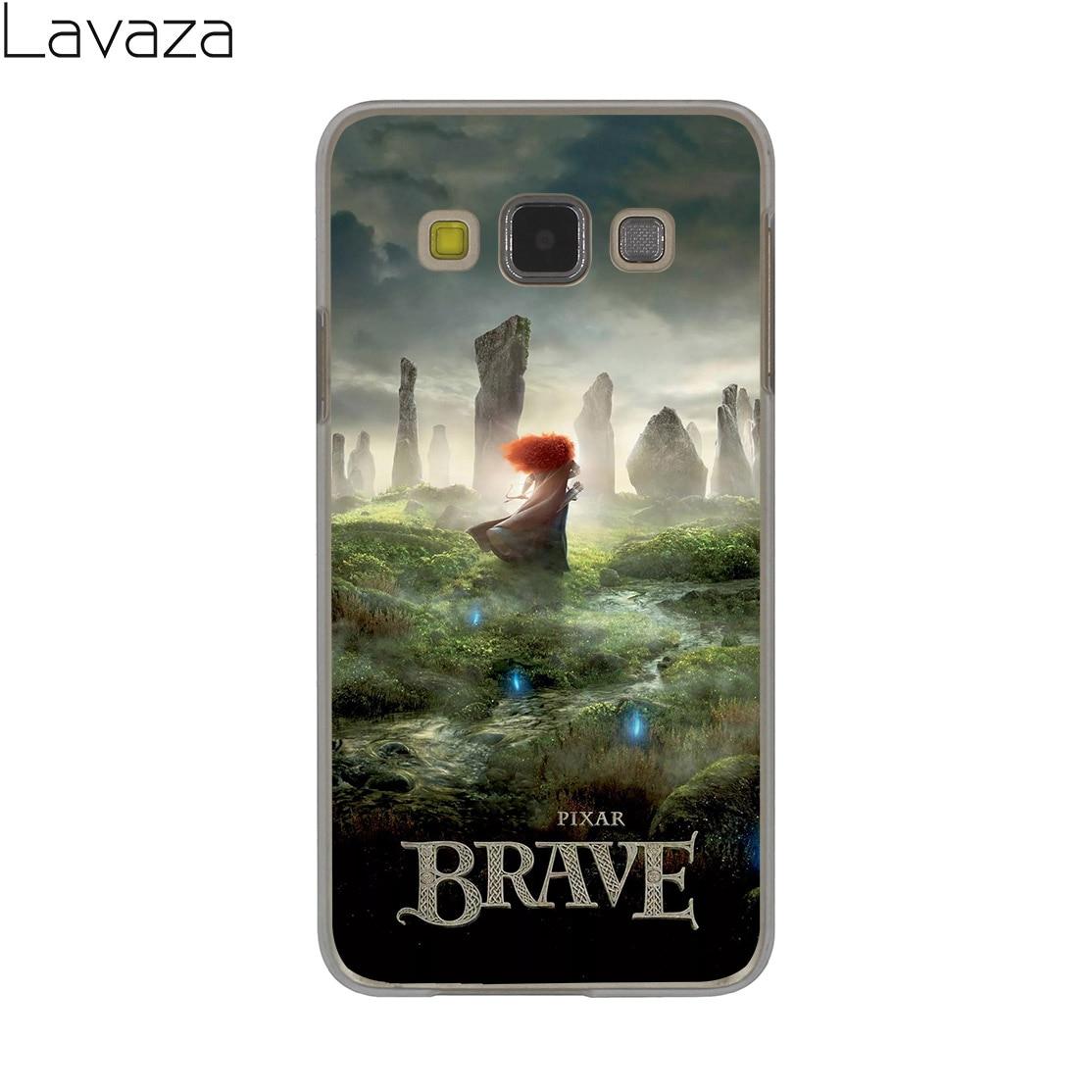 Lavaza cartoon Brave Merida Hard Case for Samsung Galaxy A3 A5 A7 A8 2015 2016 2017 2018 Note 8 5 4 3 2 Grand Prime