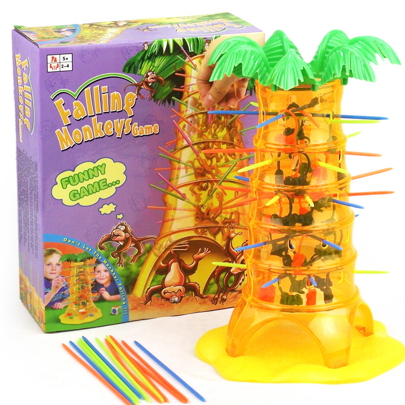 Toy Game Store In Lone Tree: Novelty Falling Tumbling Monkeys Game Parent Child Toy