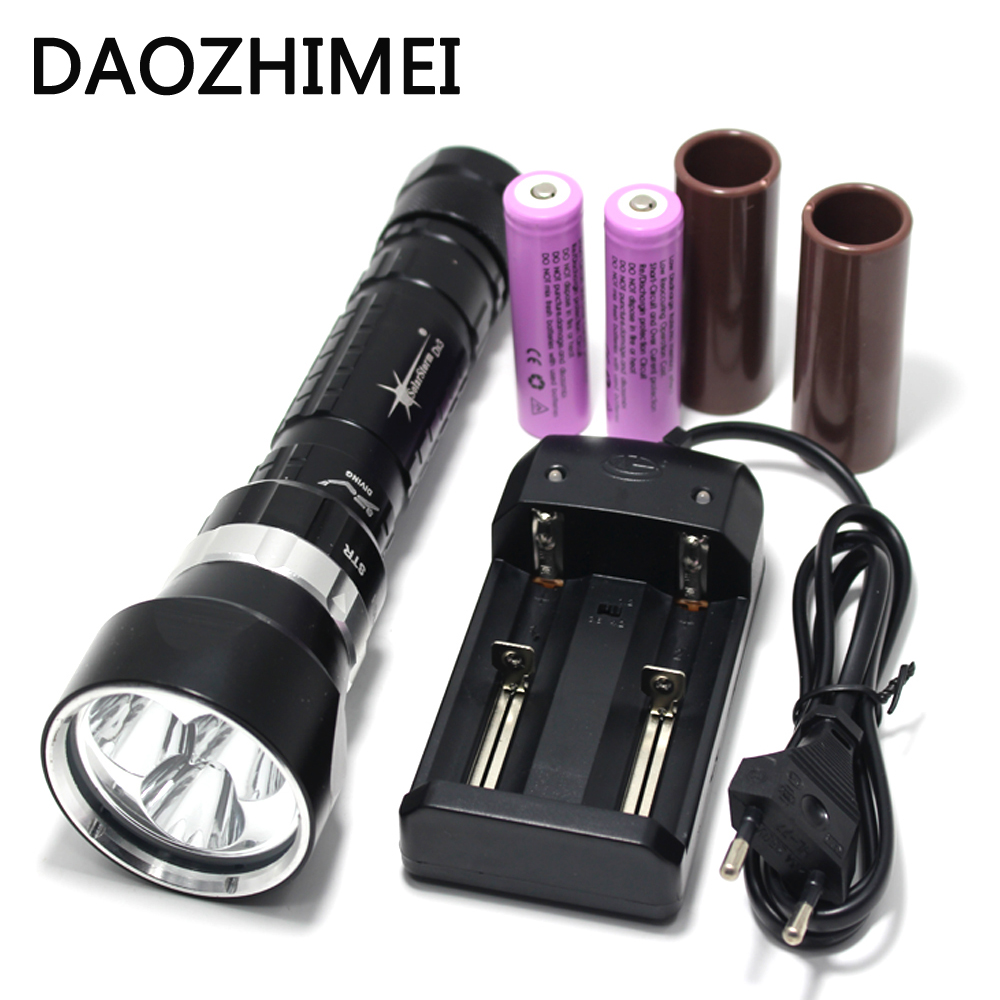 9000LM 3*XML L2 LED Waterproof 200m Diving Scuba Flashlight Torch & 2-slots Charger & 2*26650 rechargeable Battery sitemap 2 xml