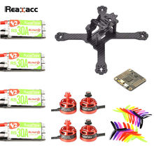 Original Realacc X210 PRO 3K Frame  Kit CC3D REVO F4 Racerstar BR2205 2600KV Motor RS30A V2 Blheli_S 5X4X3 Propeller Combo Set