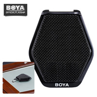 BOYA BY MC2 Condenser Conference Microphone Super cardioid Conference Computer Mic 3.5mm Jack USB Interface for Meeting Speech