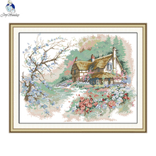 Joy Sunday The Run of Country Needlework Cross Stitch Set for Embroidery Kit Cross-Stitch Handwork Wedding Kits
