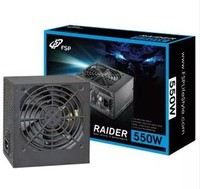 FSP Black Knight RA550 Rated 550W 80plus Silver Desktop PC Power