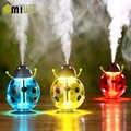 Mini Portatile Beetle Umidificatore USB Aroma Diffusore Diffusore di Aromaterapia olio Essenziale Diffusore Mist Maker con LED Regalo Luce di Notte