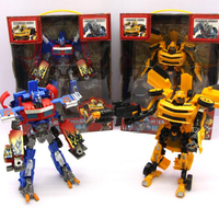 New Style The Autobots Model Toy Anime Series Transformation Action Figure Toy Car Robot PVC Plastic