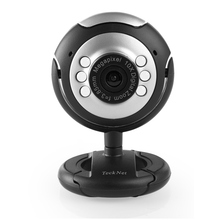 TeckNet C016 USB HD 720 P Webcam, 5 Mégapixels, 5G Lentille, USB Microphone et 6 LED