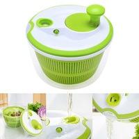 Creative 5L Large Capacity Salad Spinner Pouring Spout Vegetables Dryer Sieve Strainer Colander Basket High Quality 8 JU07 DC112