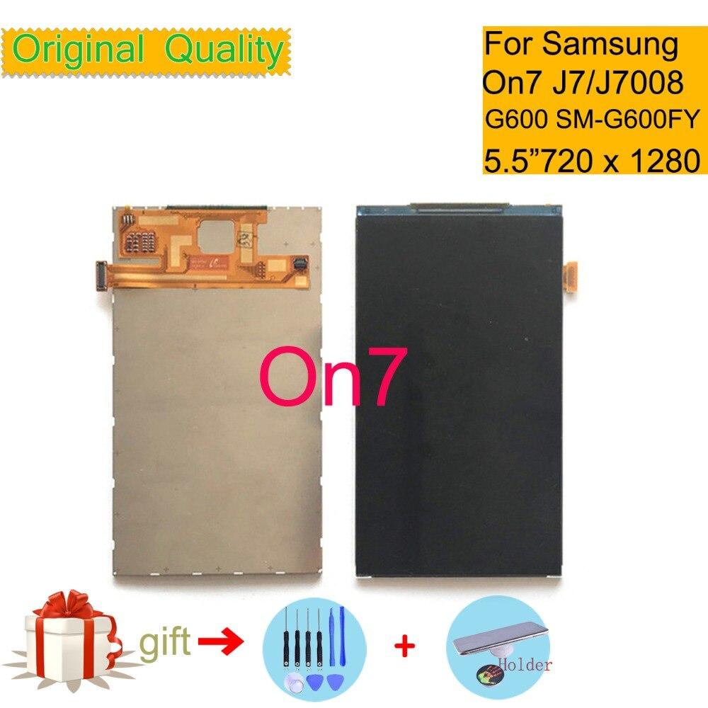 D'ORIGINE LCD 5.5 Pour Samsung Galaxy On7 2015 G600 SM-G600FY Écran LCD Moniteur à Écran Pantalla J7 J7008 SM-J7008 LCD affichage