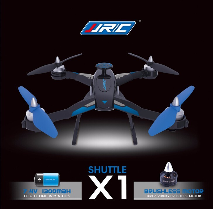 F16594 95 font b Drone b font JJRC X 1 With Brushless Motor 2 4G 4