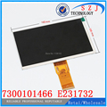 LCD Screen Panel for 7 Tablet PC Newsmy n17 800*480 LCD Screen 7300101466 E231732 LCD Display Free shipping