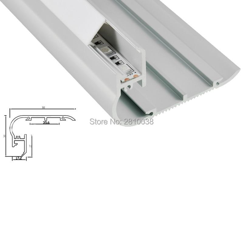 conjuntos 30x2 m lote escada levou extrusao de aluminio conduziu perfil e 80x50 tamanho canais para