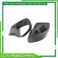 ForAudi 09-16 Q5/14-15 Q7/14-17 SQ5 Ersatz Stil Carbon Fiber Hinten ansicht Seite Spiegel Abdeckung ohne Seite Unterstützen Licht Loch