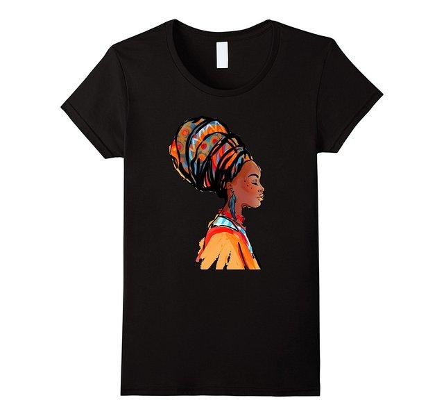 אפריקאי יופי חולצה 2017 קיץ אימונית הברנש נשים טבעי כותנה הדפסת T חולצה נשי טבעי כותנה היפ הופ