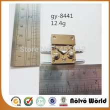 23*30mm small bags gold lock fashion hardware DIY handmade bag accessory locks