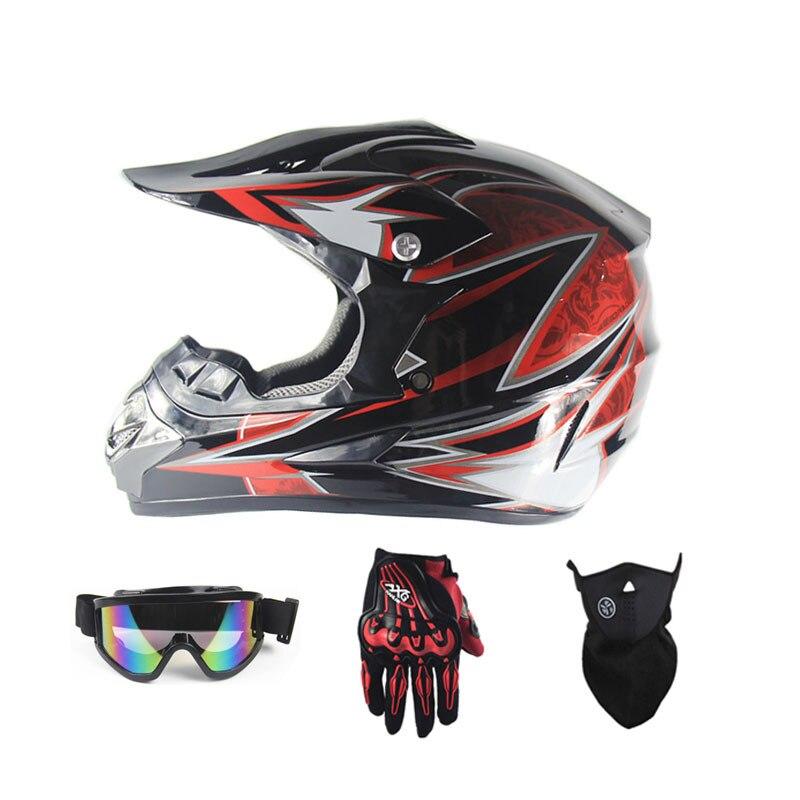 Casque de Moto modulaire pour motoneige 3 cadeau nouveau casque de Moto pour homme de qualité supérieure casque de Motocross Capacete hors route