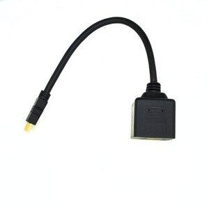 Image 3 - HDMI 2 דרך Y ספליטר כבל זכר 2X נקבה HDMI כבל מחשב/DVD כדי טלוויזיה/מקרן