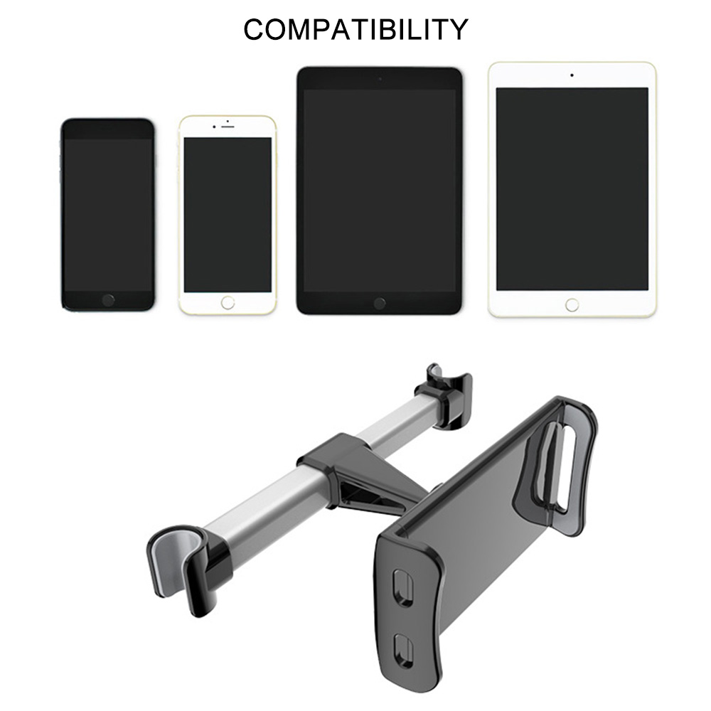 Car Rear Pillow Bracket Tablet Seat Back Headrest for 4 11 Inch Mobile Phone Hook Accesories Racket Universal Clip in Universal Car Bracket from Automobiles Motorcycles