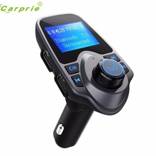 Nueva Llegada Bluetooth Car Kit Reproductor de MP3 FM Transmisor Inalámbrico de Radio Adaptador de Cargador USB st23
