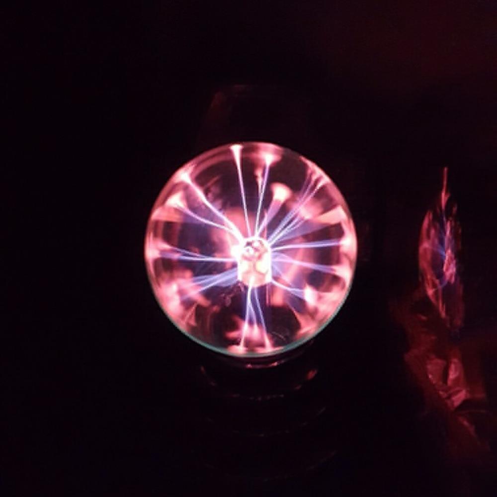 720995de 2018 USB Plasma Ball Electrostatic Sphere Light Magic Crystal Lamp Ball  Desktop Lightning Christmas Party Touch Sensitive Lights-in Novelty  Lighting ...