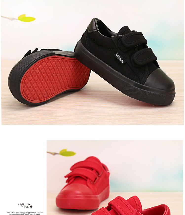 Beautiful Baby Girl and Boy White Canvas Shoes 6 Colors kids Casual Shoes Flat and Durable Toddler Little Girl Sneakers 17