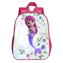64bf30cd8 A Pequena Sereia Ariel Mochila 2019 Rosa Princesa Crianças Saco de Escola  mochila Schoolbag Sacos de