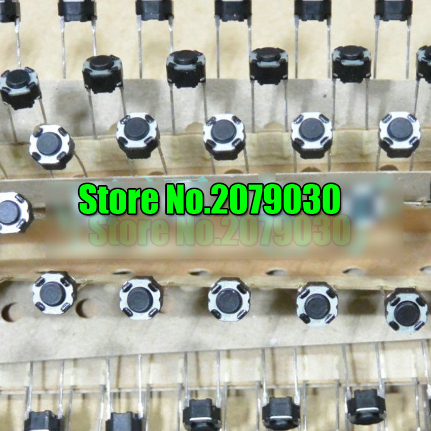 6x6x4.3 Touch Switch Button 2P Round DIP Push button for Panasonic 6*6*4.3 100pcs/lot 100pcs lot isd1820py dip 14 new origina page 9