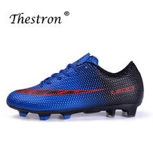 Unisex Turf Soccer Shoes Low Ankle Sports Indoor Football Designer Youth for Boys Green Orange Kids