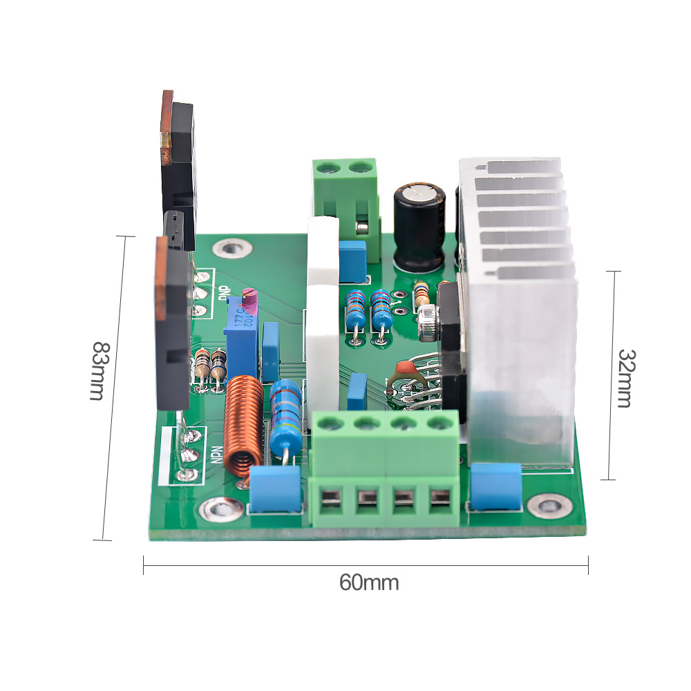 Aiyima Upc1298v Mono Amplifier Board 80w Hifi Audio Pcb Hi Fi Car Power Diy One Channel 8ohm Sound System Speaker Home Theater In From Consumer