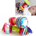 JJOVCE Детское Кольцо Игрушка 0-12 месяцев Новорожденных Рук Плюшевые игрушки гантели WJ591 ①